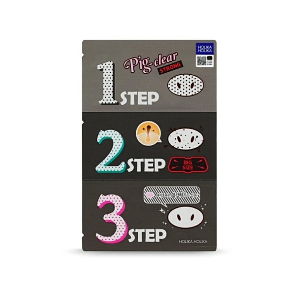 韓國Holika Holika 豬鼻子黑頭三步驟(強力加大版)【小三美日】◢D372132《APP領券9折→代碼08CP2000B》