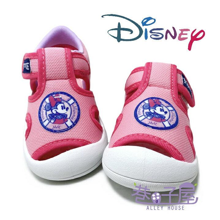 迪士尼DISNEY 童款米妮漫畫版護趾涼鞋 [119304] 粉 MIT台灣製造【巷子屋】