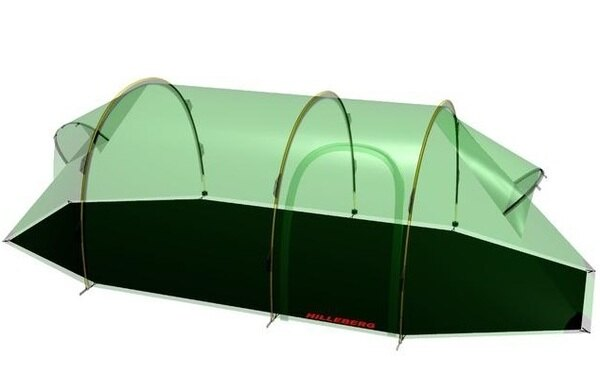 Hilleberg黑標Nammatj3GT那瑪特帳篷專用地布0212461