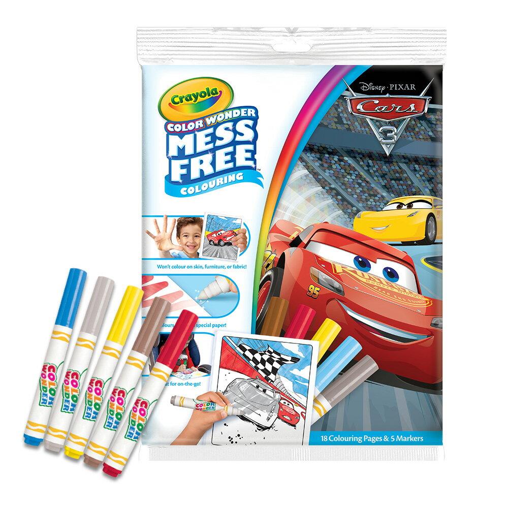 Crayola 神彩著色套裝 - 汽車總動員3 - 限時優惠好康折扣