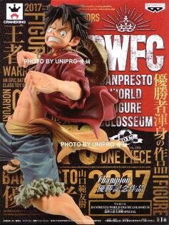 台灣代理版BWFC世界大賽造形王頂上決戰特別版SPECIAL草帽魯夫BANPRESTOWORLDFIGURECOLOSSEUM海賊王公仔