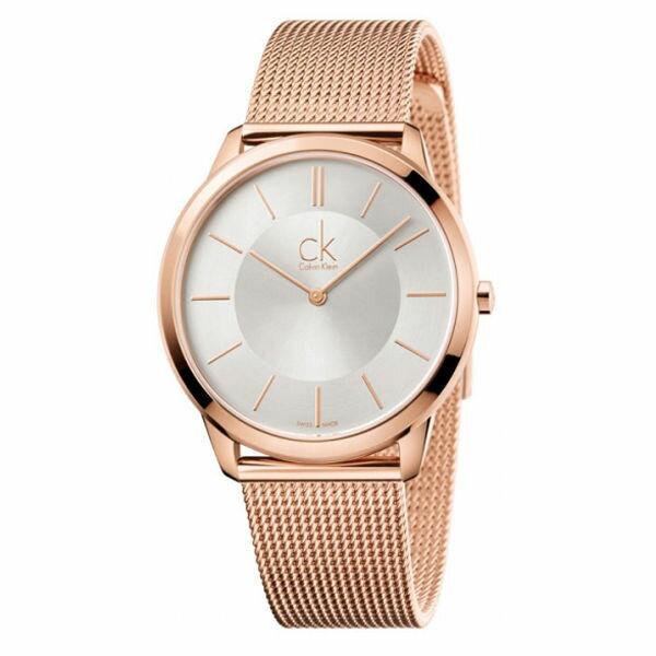 CK經典系列(K3M21626+K3M22626)玫瑰金米蘭時尚腕錶白面40+35mm