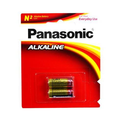 Panasonic國際牌 ALKALINE N型 5號鹼性電池2入 LR1T/2B