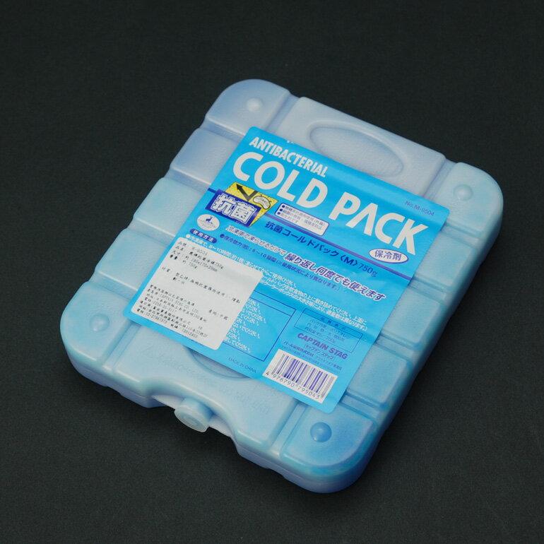 日本鹿牌 CAPTAIN STAG 抗菌冷媒750g 冰磚 冷媒 環保冰塊 冷凍磚 保冷劑 M-9504