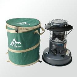 GoSport彈力收納桶小-直徑40x高47cm可收納Toyotomi 2.5kw功率煤油暖爐 36503