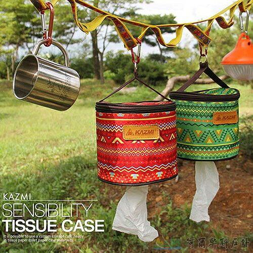 KAZMI 民族風捲筒衛生紙套(綠) K4T3B008 - 限時優惠好康折扣