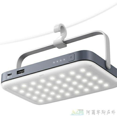 N9 LUMENA+冷白光 行動LED照明燈1600流明/露營/錄影拍照打光 鋁合金外殼可直立/吊掛N9-LUMENA-BW [阿爾卑斯戶外/露營] 土城 - 限時優惠好康折扣