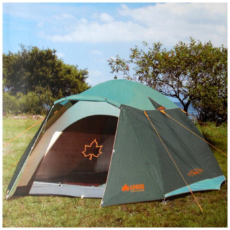 LOGOS 綠楓300FR-IZ帳篷(台灣限定款) 適合 5~6人71801725TW-G - 限時優惠好康折扣