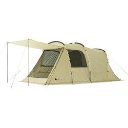 可預購 LOGOS GLAMBASIC Tunnel Dome XL-AG 白色派對家庭帳 71805023