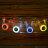 [阿爾卑斯戶外/露營]  多彩LED露營繩/單車/夜間活動防撞防絆倒警示燈 10件組 0