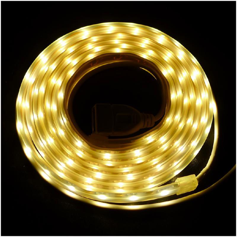 OutdoorBase接USB行動電源 LED燈條(黃光)-23236 - 限時優惠好康折扣