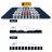 OutdoorBase 美麗人生S單人充氣床 可拼接 99 x 200 x 20cm新版省力幫浦 24103 2