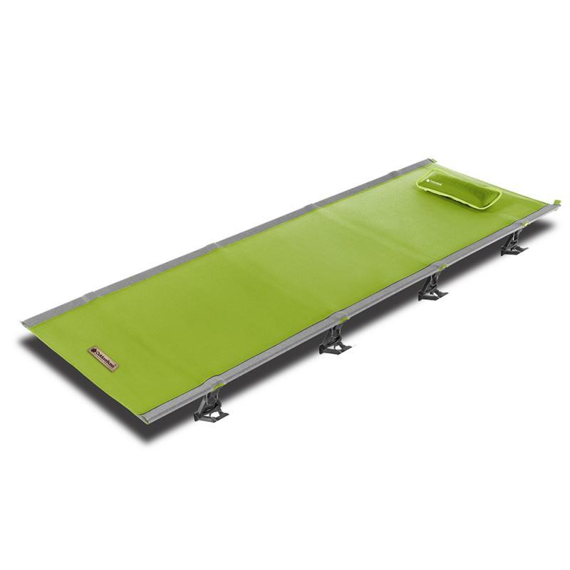Outdoorbase AMOEBA 阿米巴輕便摺疊行軍床-綠色 25438