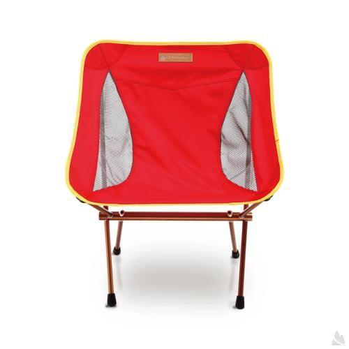 OutdoorBase AMOEBA-1kg超輕量鋁合金摺疊休閒椅-魔力紅-耐重120kg 25704 [阿爾卑斯戶外/露營] - 限時優惠好康折扣