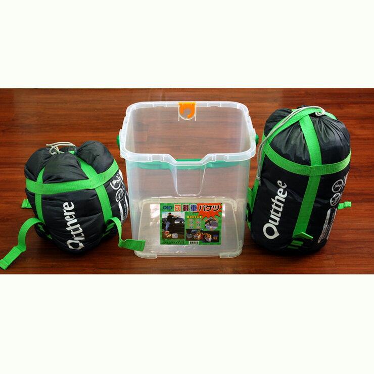 RV桶+兩個好野Outthere好窩睡袋-英威達七孔保暖纖維5~10°C適用 [阿爾卑斯戶外/露營]