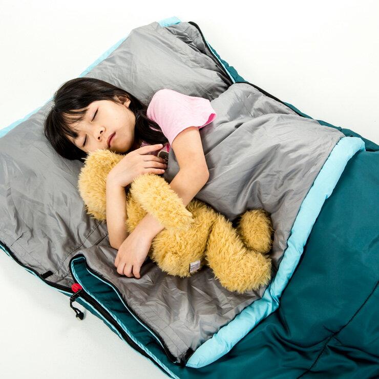 好野 Outthere好窩睡袋英威達七孔保暖纖維5~10°C適用-青色 AS00102 [阿爾卑斯戶外/露營]