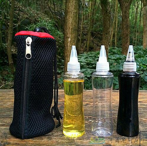 [阿爾卑斯戶外/露營] 土城 野炊料理 150ml 醬油瓶 / 醬汁調味瓶3件組 - 限時優惠好康折扣