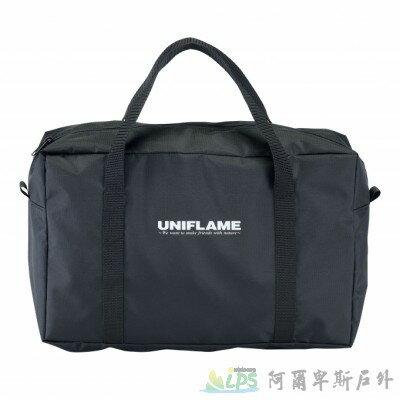 [阿爾卑斯戶外/露營]  UNIFLAME UNICERA TG-III 折疊不鏽鋼桌上型烤肉爐與收納袋 615010 1