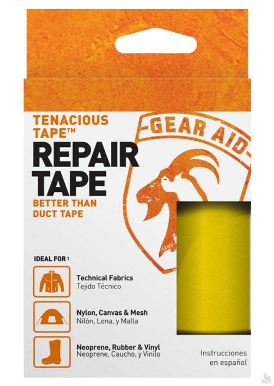 McNett Tenacious Tape強力補丁膠帶(黃色) 7.6 x 50.8 cm , 10686 [阿爾卑斯戶外/露營] - 限時優惠好康折扣