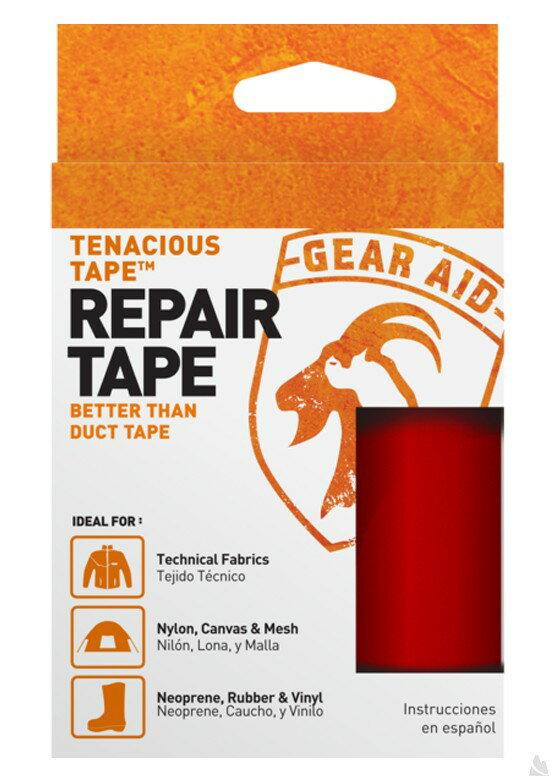 McNett Tenacious Tape強力補丁膠帶(紅色) 7.6 x 50.8 cm, 10687 [阿爾卑斯戶外/露營] 土城