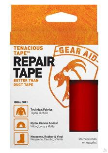阿爾卑斯戶外用品:McNettTenaciousTape強力補丁膠帶(紅色)7.6x50.8cm,10687