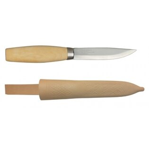 MORAKNIVORIGINAL1EXCLUSIVE層壓鋼經典木工刀原木色11934