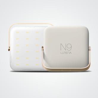 送珍珠柔光罩 N9 LUMENA 小白光行動電源LED照明燈冷白光 1300流明/露營/錄影拍照打光 N9-LUMENA-Swhite