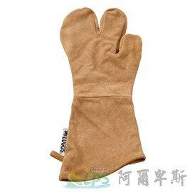 [阿爾卑斯戶外/露營] 土城 LOGOS BBQ專用皮手套 81062204 - 限時優惠好康折扣