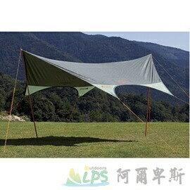 [阿爾卑斯戶外/露營] LOGOS 4443-N綠楓FIT天幕帳 71808012