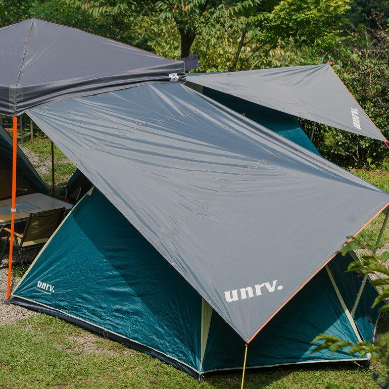 延伸布UNRV 第六代27秒速搭帳用 小天幕 [阿爾卑斯戶外/露營]  AB0009
