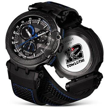 TISSOT 天梭 T1154173706102 T-RACE MOTOGP THOMAS LUTHI 2018車手限量石英計時腕錶 43mm 1