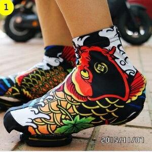 美麗大街【BK066】XINTOWN公路車單車鞋套~為你的卡鞋添新衣吧