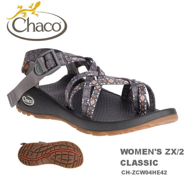 【速捷戶外】美國ChacoZX2越野運動涼鞋女款CH-ZCW04HE44-雙織夾腳(黃金教條),戶外涼鞋,運動涼鞋