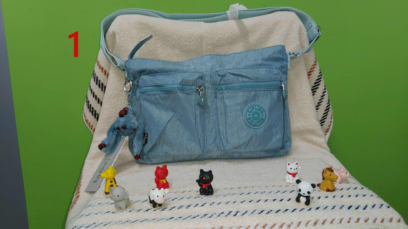 【iWork】Kipling 吉普林凱普林尼龍包 斜背包 側背包 後背包 防水 品質