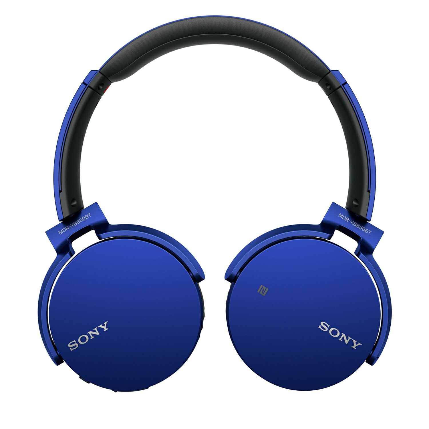 Sony Bluetooth Wireless NFC Over-Ear Headphones Extra Bass MDR-XB650BT - Blue 1