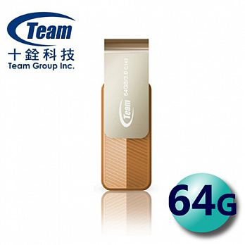 Team 十銓 64GB Color Series C143 USB3.0 隨身碟 金色