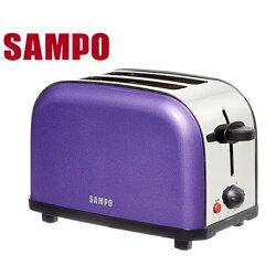 [滿3千,10%點數回饋]『SAMPO』☆聲寶 炫彩烤麵包機 TR-LF65S**免運費**