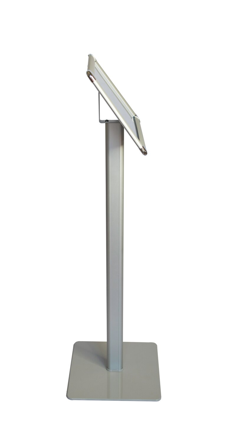 Offex A4 Size Paper Pedestal Floor Display Poster Sign Holder Stand 1