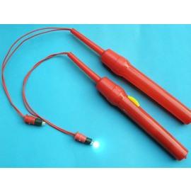 LED燈籠提把 白光燈籠提把(單色) / 一支入(定30) 超省電 超環保 紅色提桿-6671 0