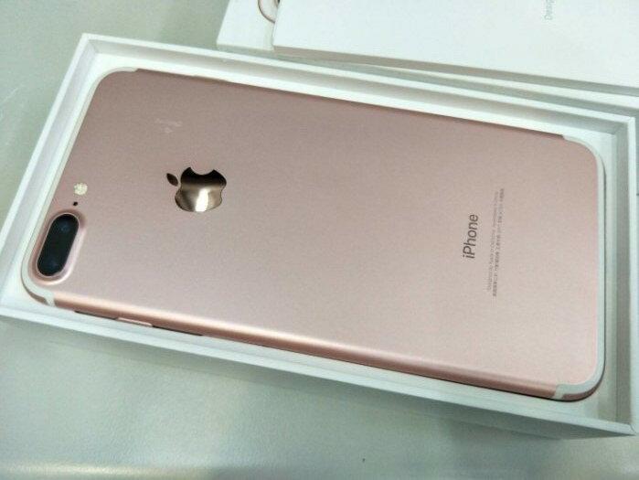 【Teng Yu 騰宇】建工門市福利機 ※ 9.5成新 APPLE IPHONE 7 Plus 5.5吋 玫瑰金 128G (門市機下標前請先詢問是否有現貨)