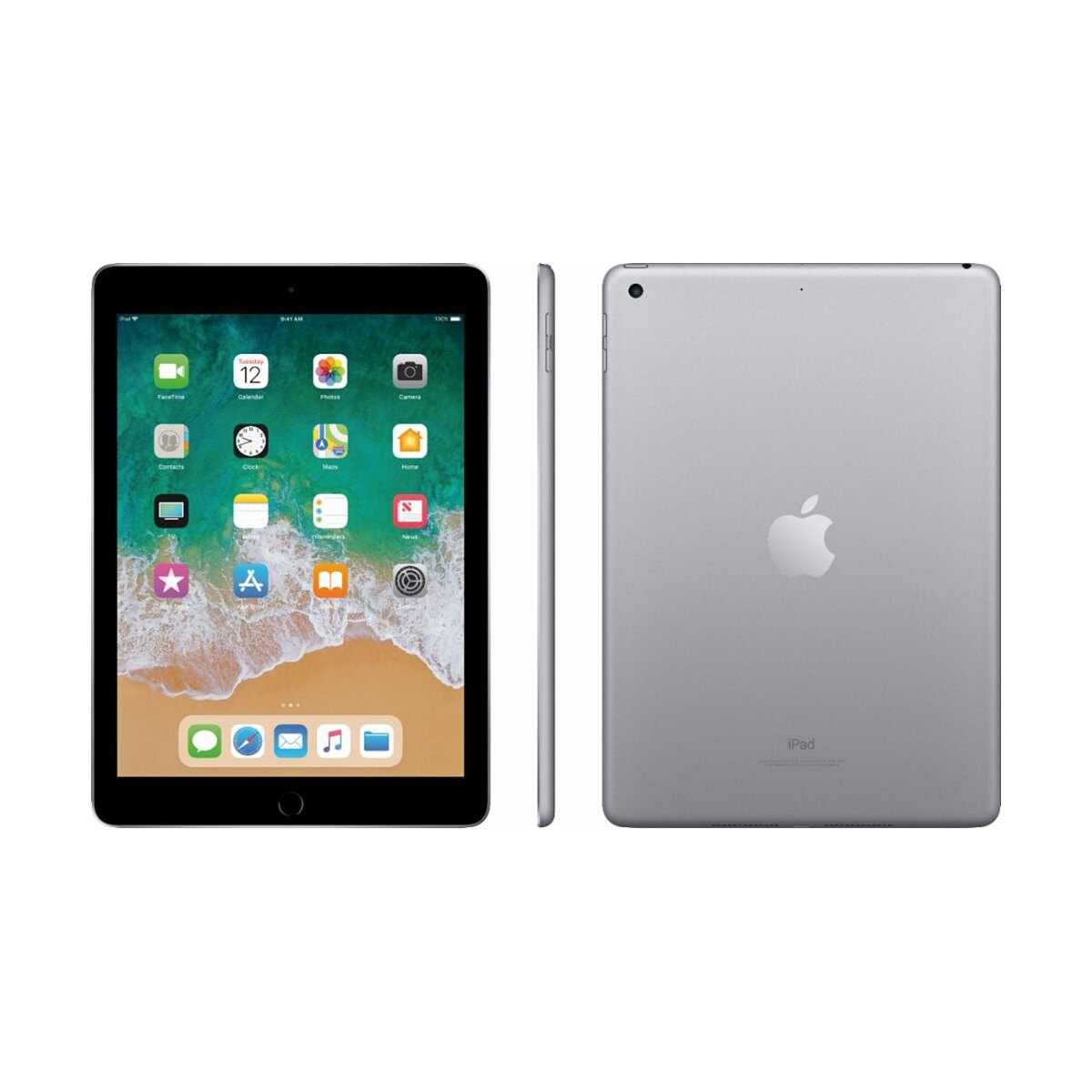 "Apple iPad 9.7"" Multi-Touch Retina Display 32GB A10 Chip Wi-Fi Tablet MR7F2LL/A - Space Gray (2018) 2"