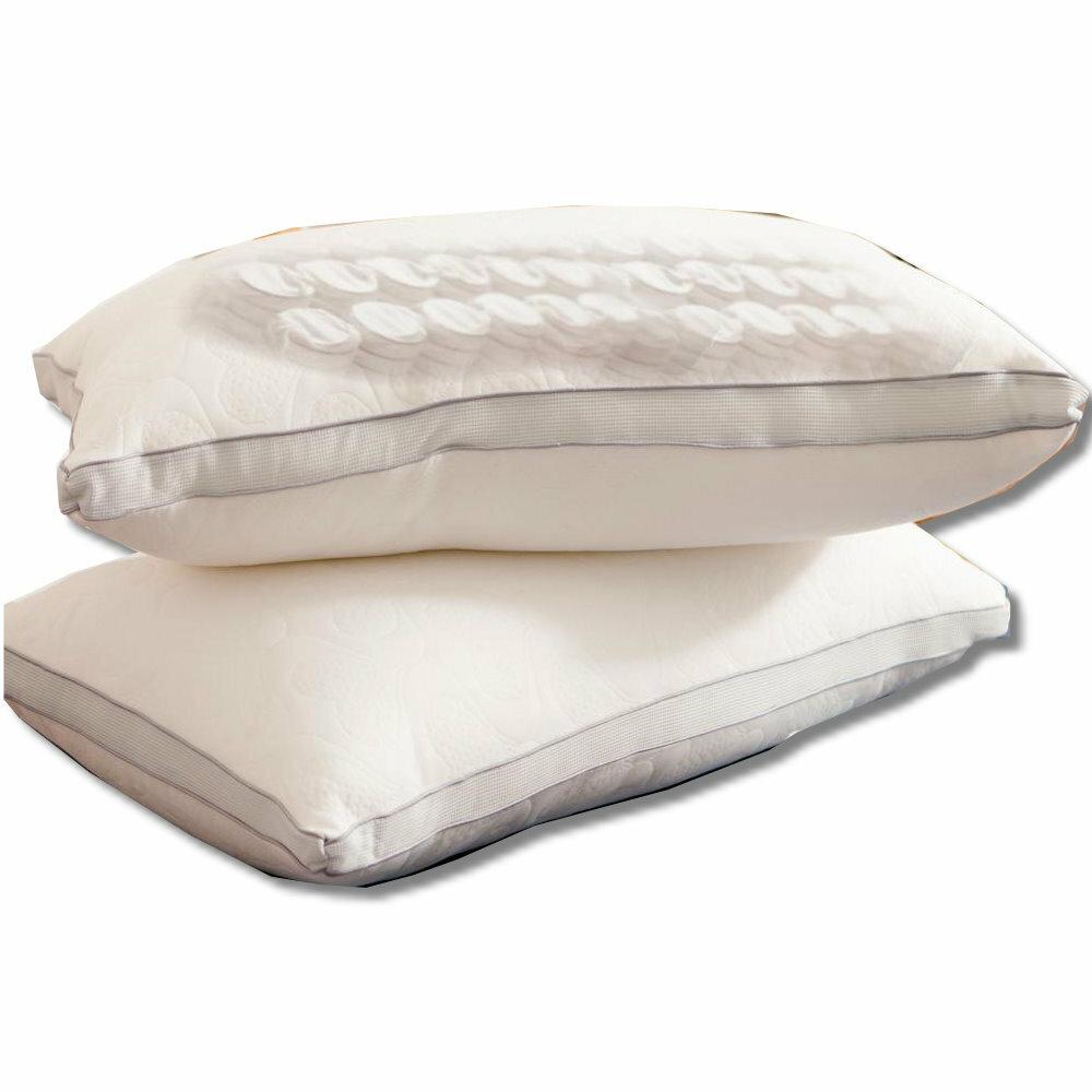 【LUST】3D獨立筒枕/Q彈柔軟 /五星級羽絲絨 /台灣生產