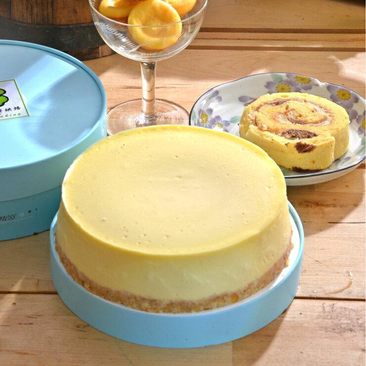 原味乳酪蛋糕︱乳酪蛋糕︱奶油乳酪︱6吋★5月全館滿499免運