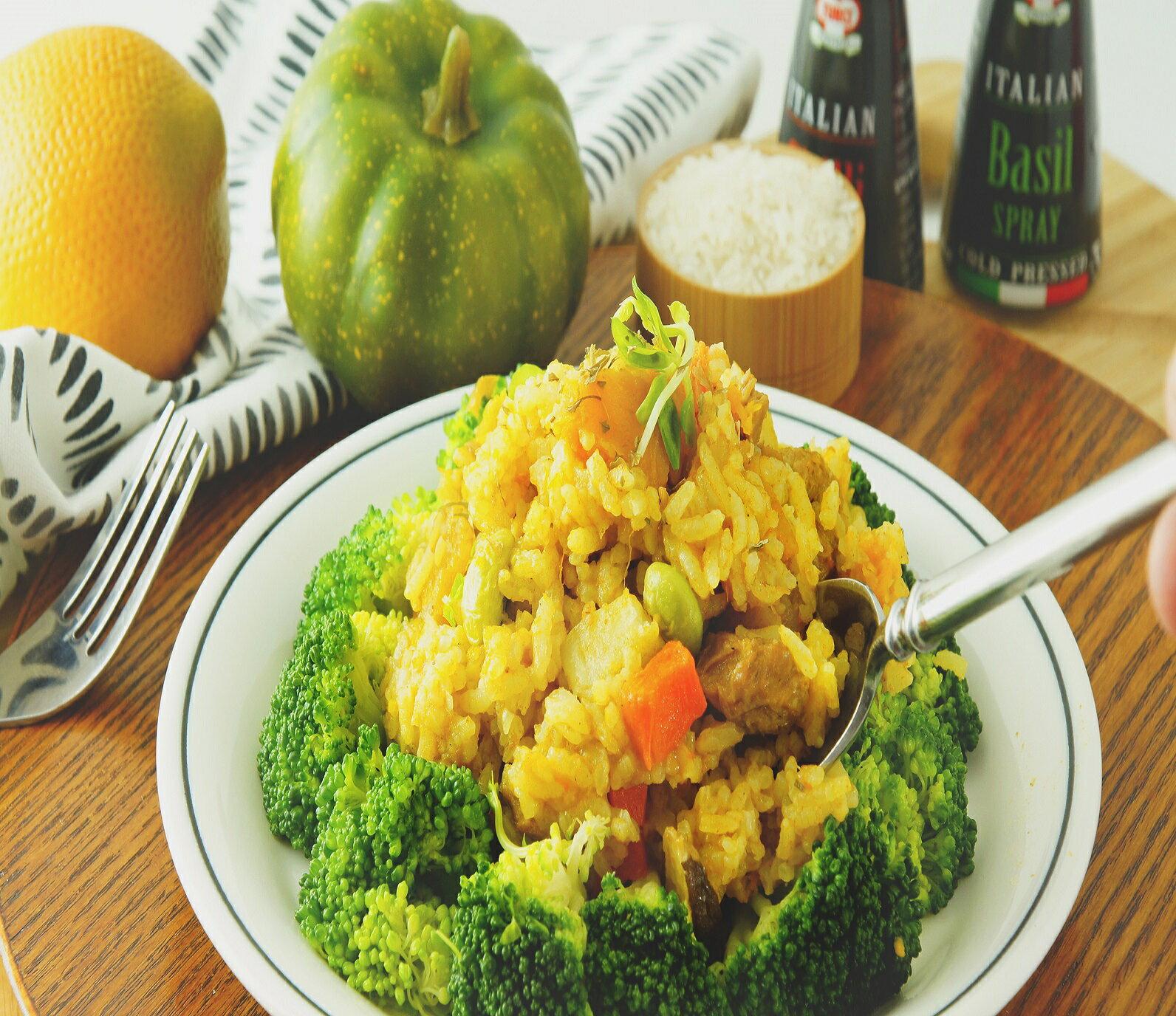 不辣生機南瓜咖哩燉飯調理包,料理包(全素食,葷皆可),全素燉飯,補貨中