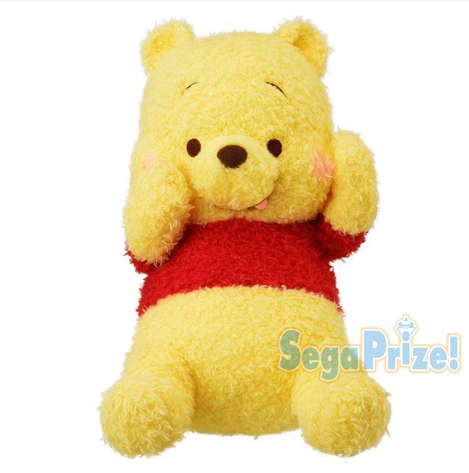 X射線【C029613】小熊維尼Winnie the Pooh 絨毛娃娃景品24x43cm,絨毛 / 填充玩偶 / 玩具 / 公仔 / 抱枕 / 靠枕 / 娃娃 0