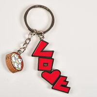 【MILU DESIGN】鑰匙圈>>LOVE台北-小籠包 0