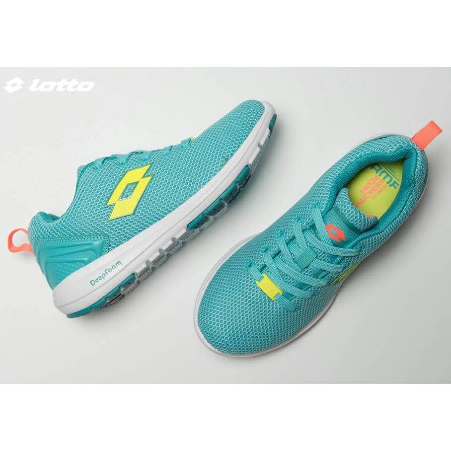 【巷子屋】義大利第一品牌-LOTTO樂得 女款Cityride 多功能訓練鞋 [5075] 石松綠