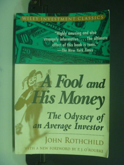 ~書寶 書T9/投資_NQA~A Fool and His Money_John Roth