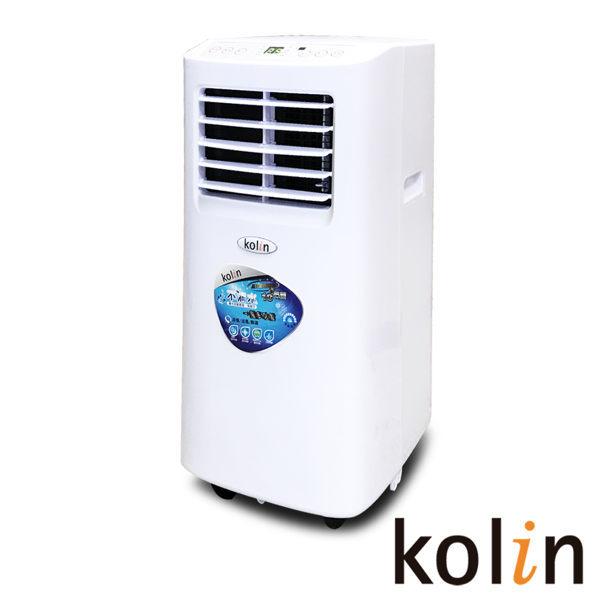 【  APP滿666折50點數回饋11~23%】KOLIN歌林不滴水3-4坪冷專清淨除濕移動式空調5000BTU(KD-121M01 送DIY專用可拆式窗戶隔板) 1
