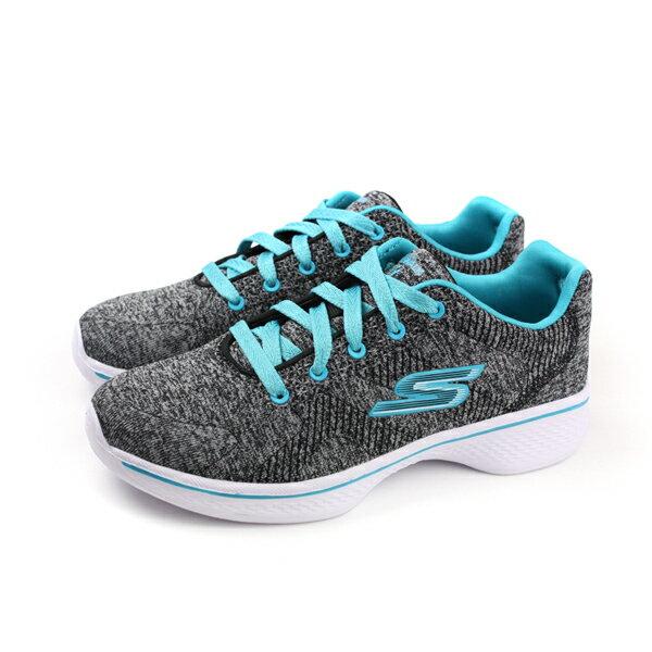 HUMAN PEACE:SKECHERSGOWALK4運動鞋童鞋灰色針織81146LBKTLno773